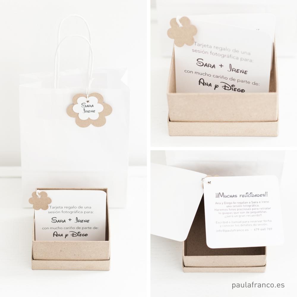 Tarjetas cajas regalo sesi n fotogr fica paula franco - Cajas para fotografos ...